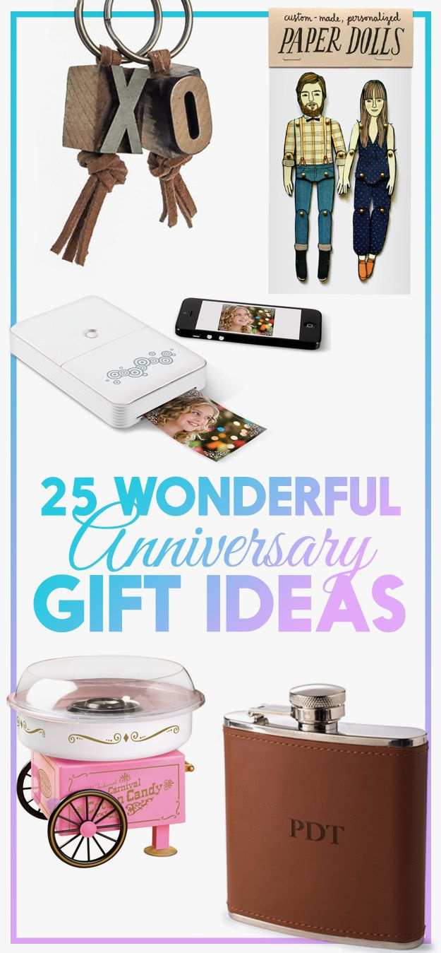 25 Clever Spins On Traditional Anniversary Gifts