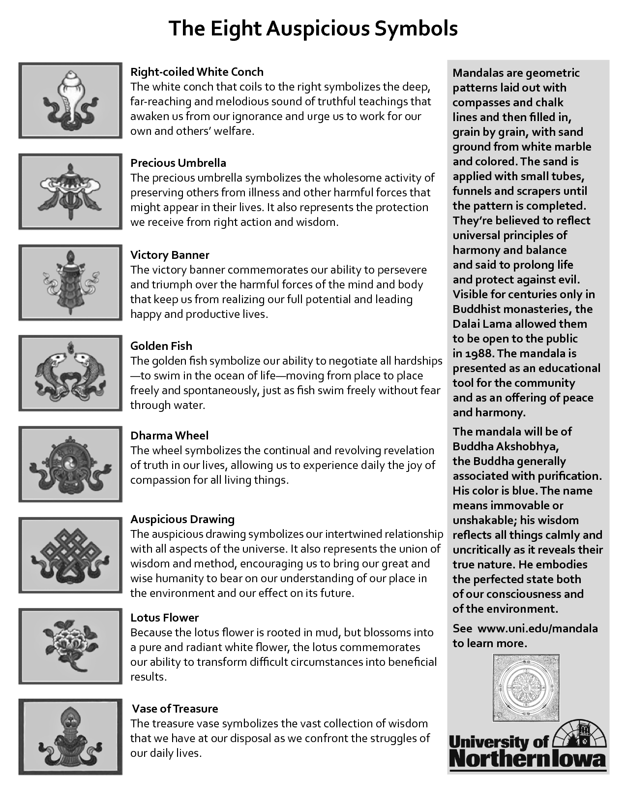 The 8 auspicious buddhist symbols buddhism pinterest the 8 auspicious buddhist symbols buycottarizona