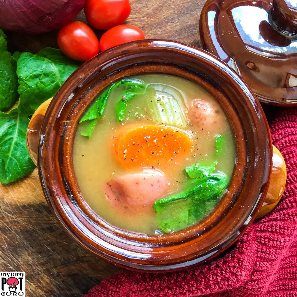 Instant Pot Vegan Vegetable Soup Silikong Recipe Vegan Vegetable Soup Recipes Easy Soup Recipes [ 1000 x 1000 Pixel ]