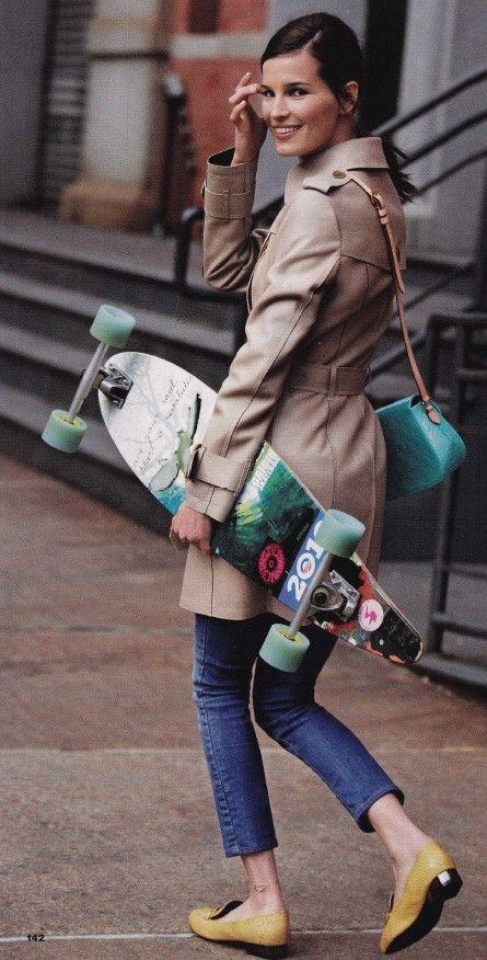 Love It Skate Ride Skateboarding Style Hanneli Mustaparta Fashion