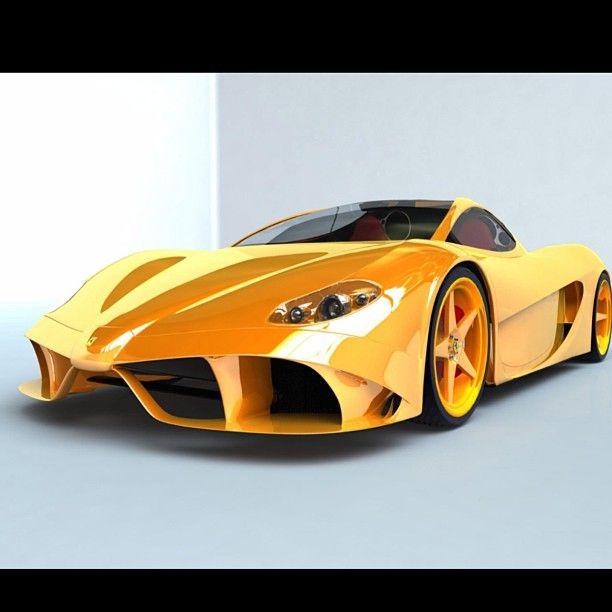 Ferrari Car Wallpaper: Cool Ferrari Concept Car - Can Anyone Name This?