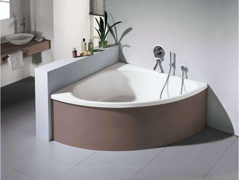 Angolare Per Vasca Da Bagno : Anette a r wht di aquatica vasca da bagno angolare in acrilico