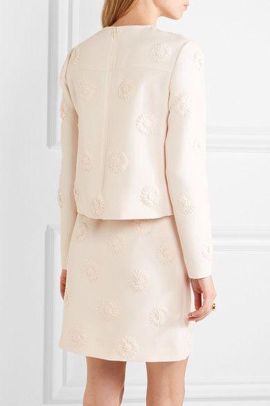 Shopping Online Outlet Sale Valentino Woman Floral-appliqu Visa Payment Cheap Online 0Z8ZNsIAC