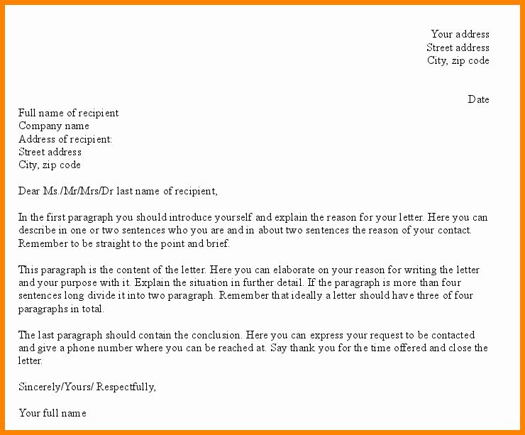 Formal E Mail Example Inspirational 9 Professional Email Writing Examples In Pdf Business Letter Sample Formal Business Letter Format Business Letter Format