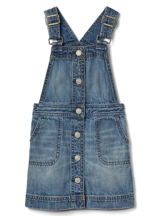 6ce198ada5b8 Gap Baby Denim Skirt Overalls Medium Wash Size 12-18 M