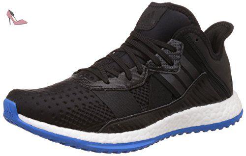 Adidas pur Boost Zg formateur, noir blanc bleu, Noir, 46