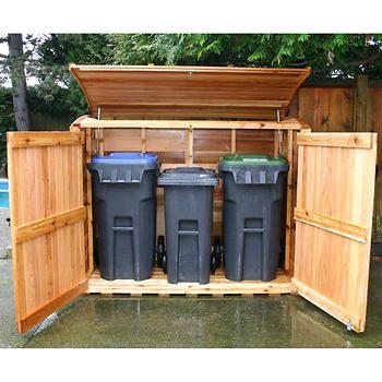 Oscar – Remise d'entreposage d'ordures