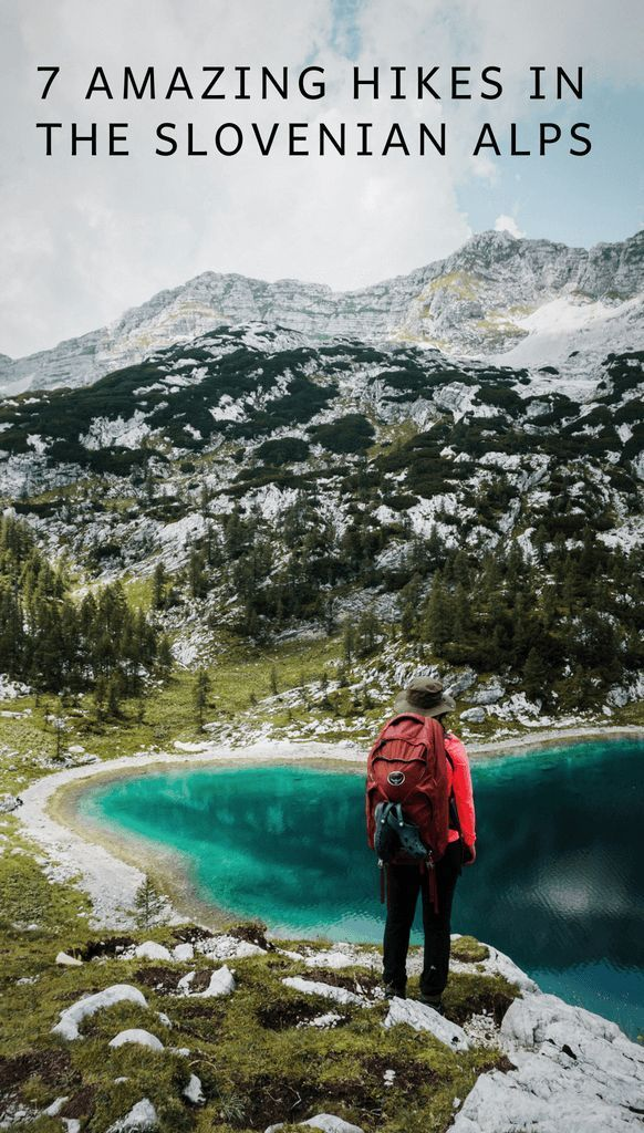 Best Hikes in Slovenia: Day Hikes and Hut to Hut Hiking Trails