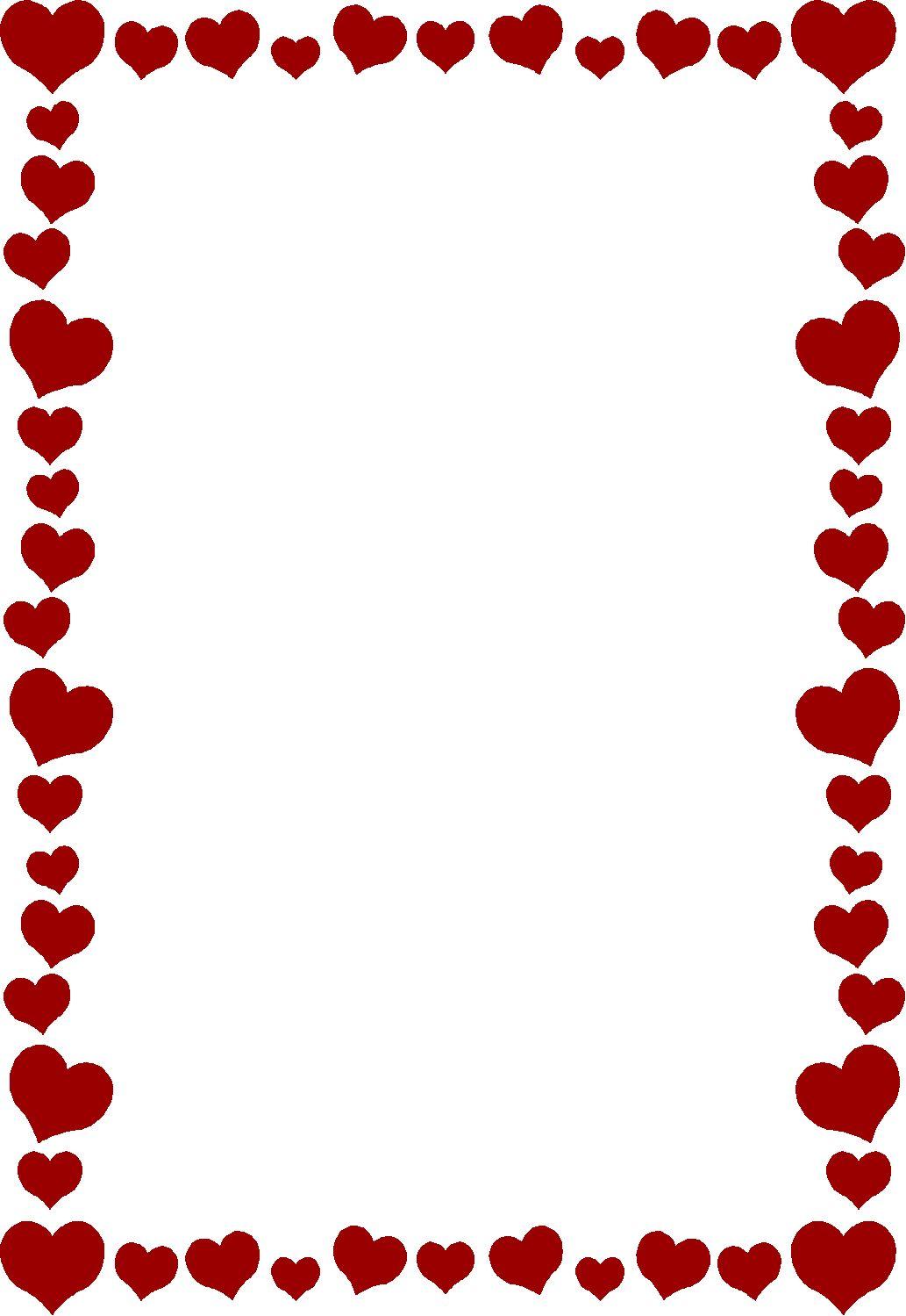 Heart Frame | Hearts N Doves | Heart clip art, Heart ...