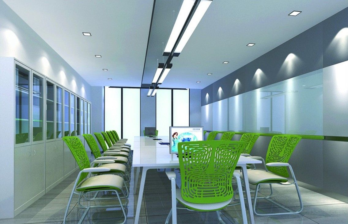 Green Chair For Modern Conference Room Conference Room Design