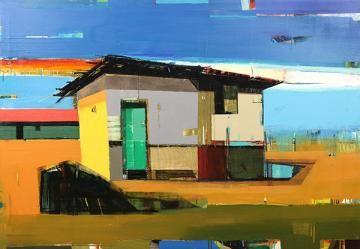 Siddharth Parasnis, painting - Price Estimate: $8000 - $12000