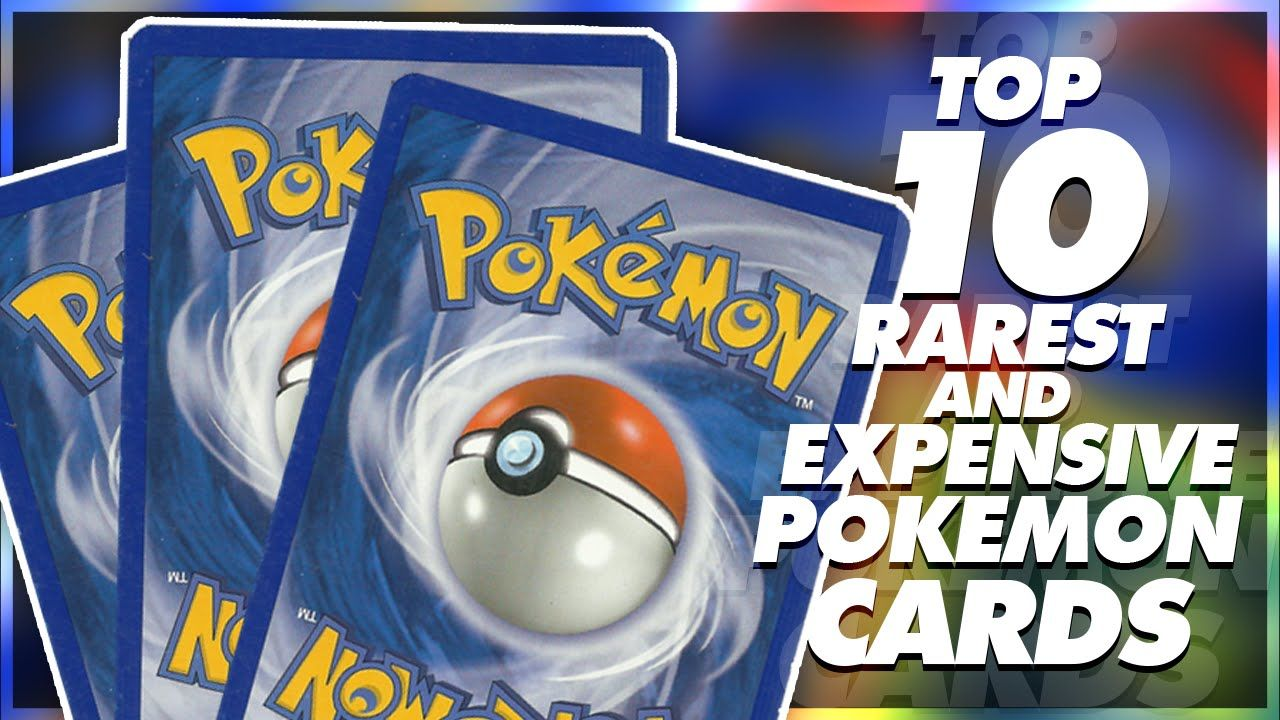Top 10 Most Expensive Pokemon Cards 2016 Edition Pokemon Pokemon Cards Pokemon Tcg