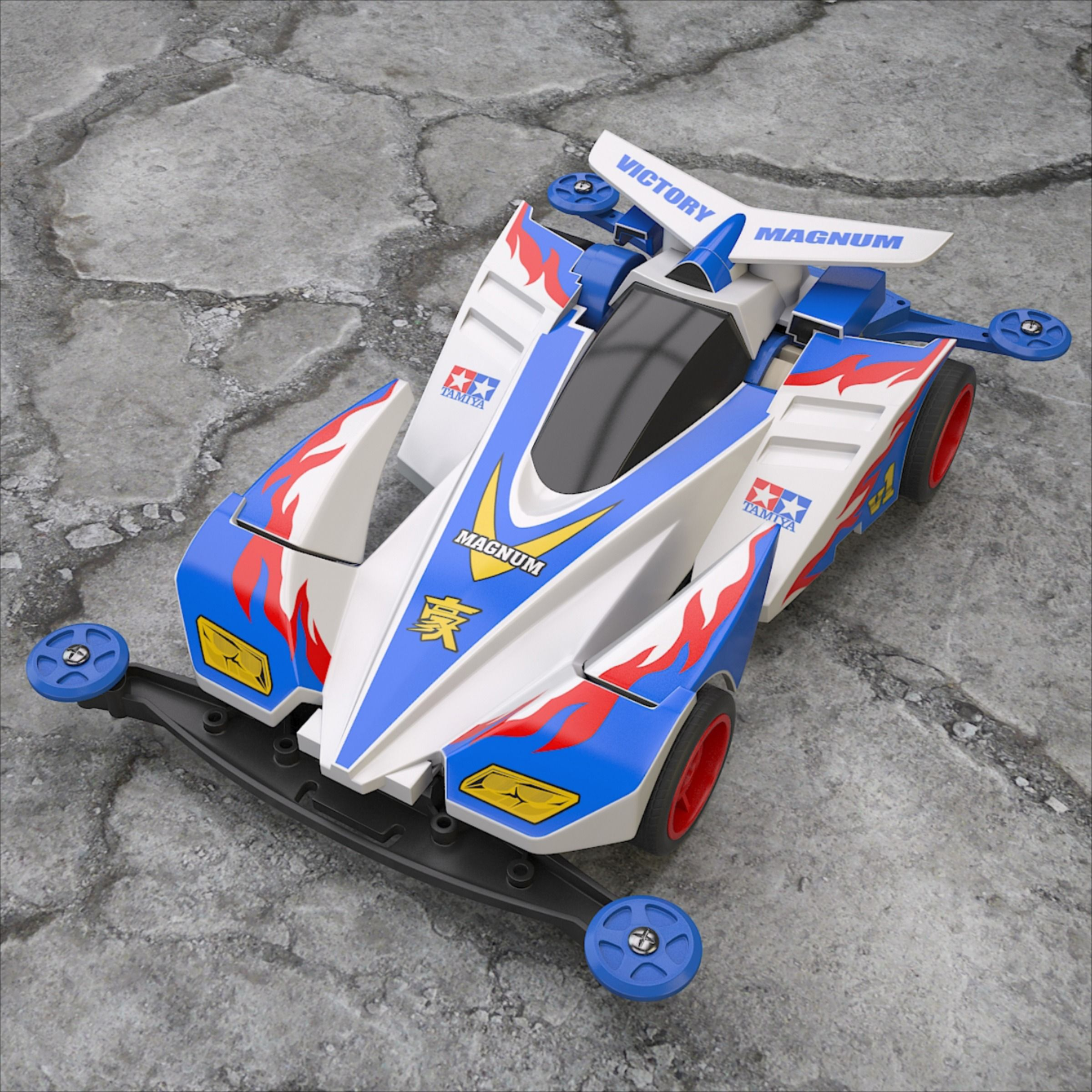 3D Victory Magnum in 2020 Mini 4wd, Victorious, Magnum