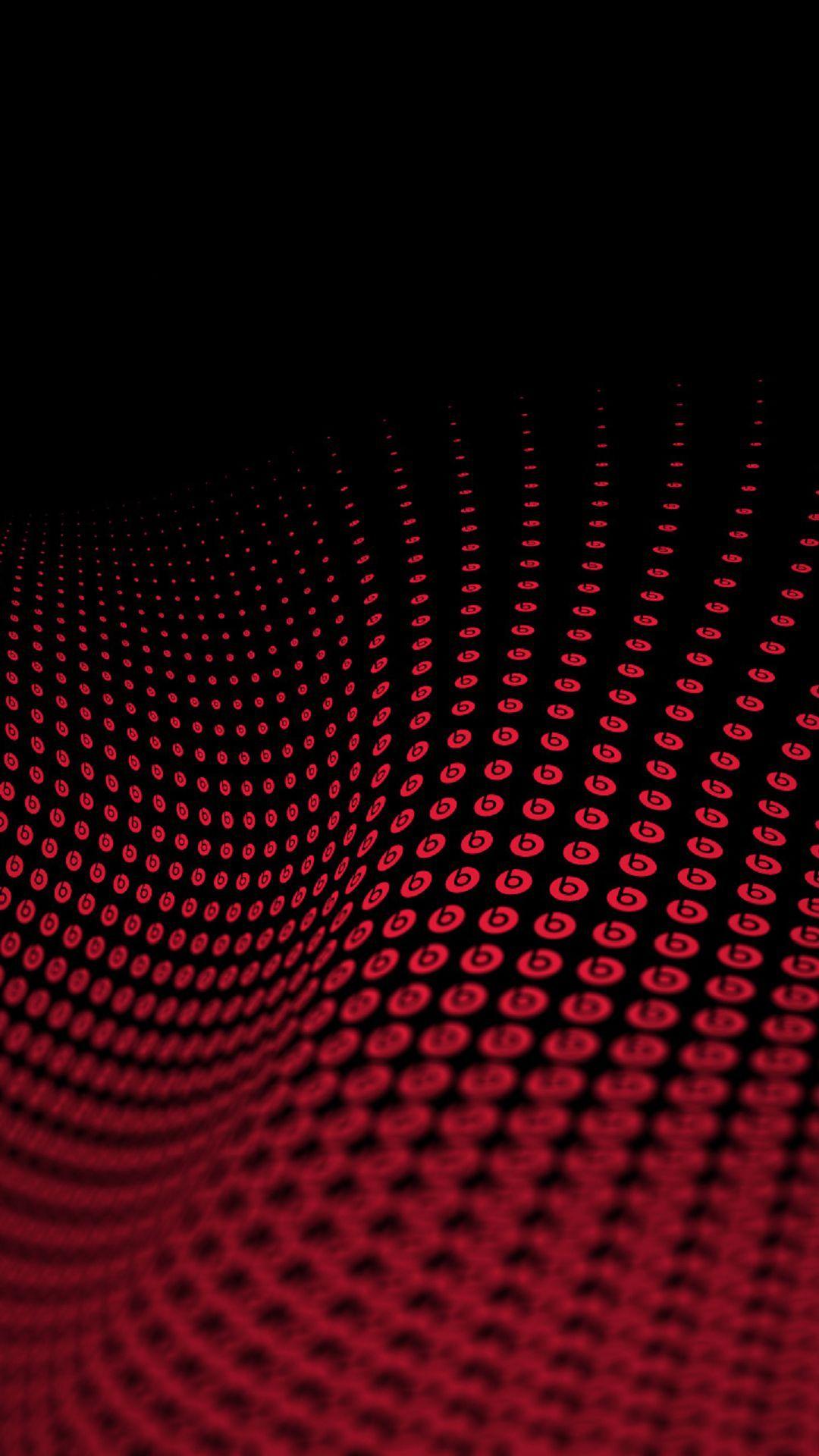 Beats By Dre Logo Wave Pattern IPhone 6 HD Wallpaper 1080x1920 Pixels