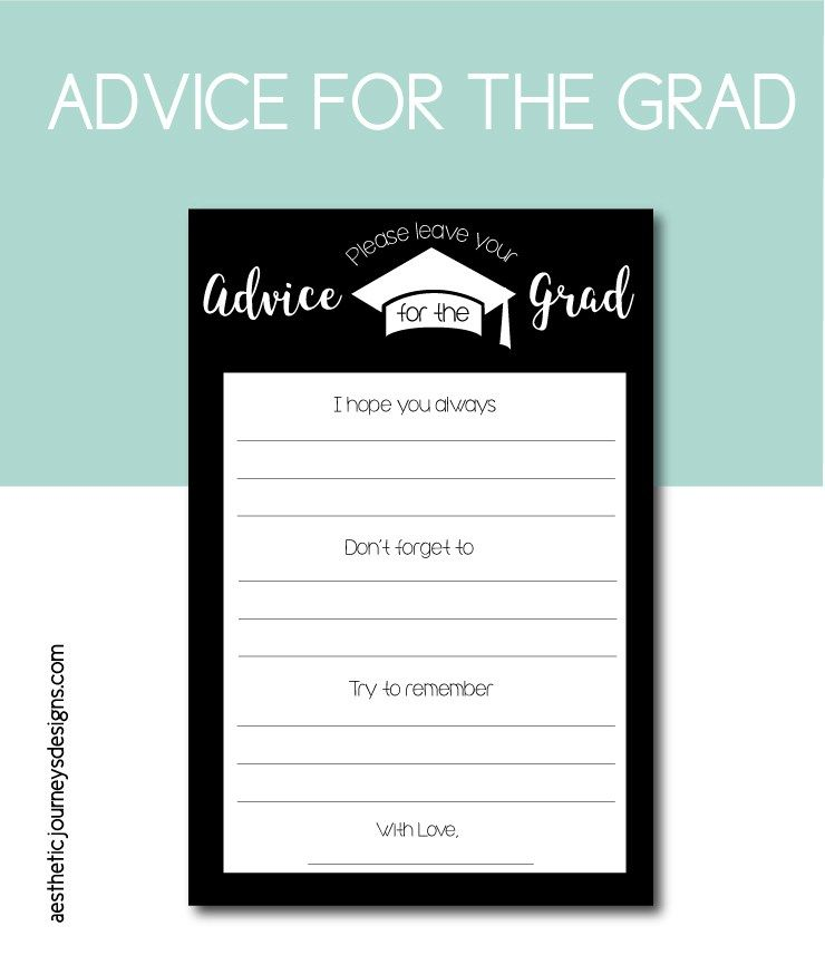 photograph about Free Graduation Printable titled Commencement Bash Strategies: 50 Absolutely free Printable Models toward