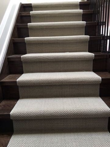 Beau Godfrey Hurst ~wool Carpet ~ Good Quality! Customized Stair Runner  Installed For Customer Danforth Flooring   Toronto