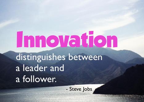 Innovation photo tip