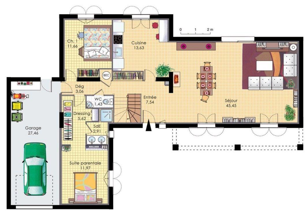 Plan Maison Bastide Gratuit