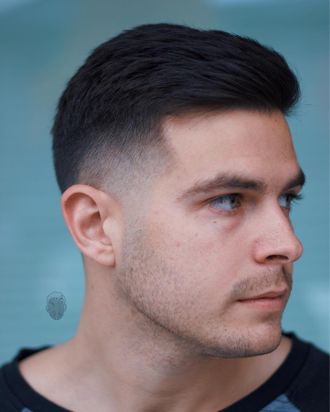 Coiffures Courtes Pour Hommes 2018 Cheveux Masculins Coupe Homme Court Coiffure Homme Coiffure Homme 2018