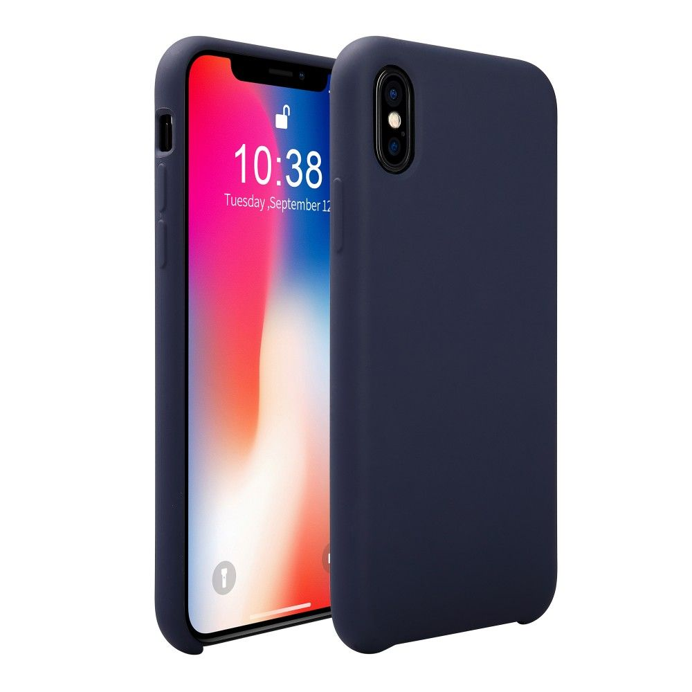 Jisoncase New Arrival Shockproof Silicone Case for iPhone X