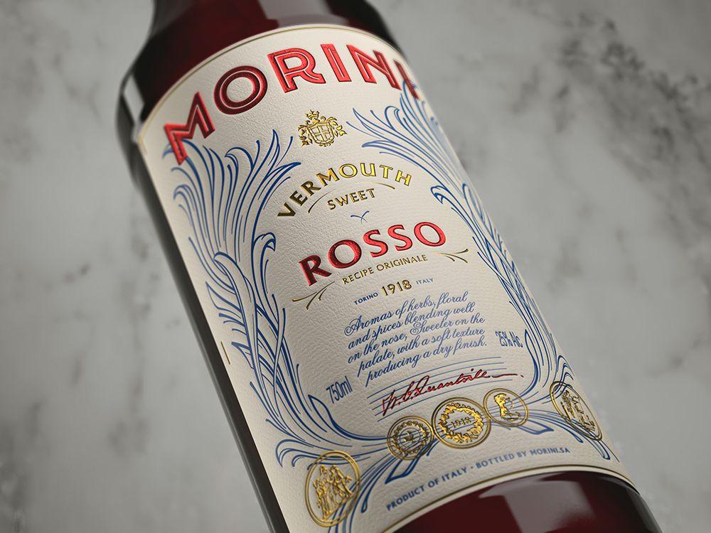 Morini Vermouth on Behance