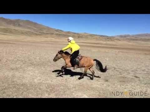 How to horseback ride in Mongolia
