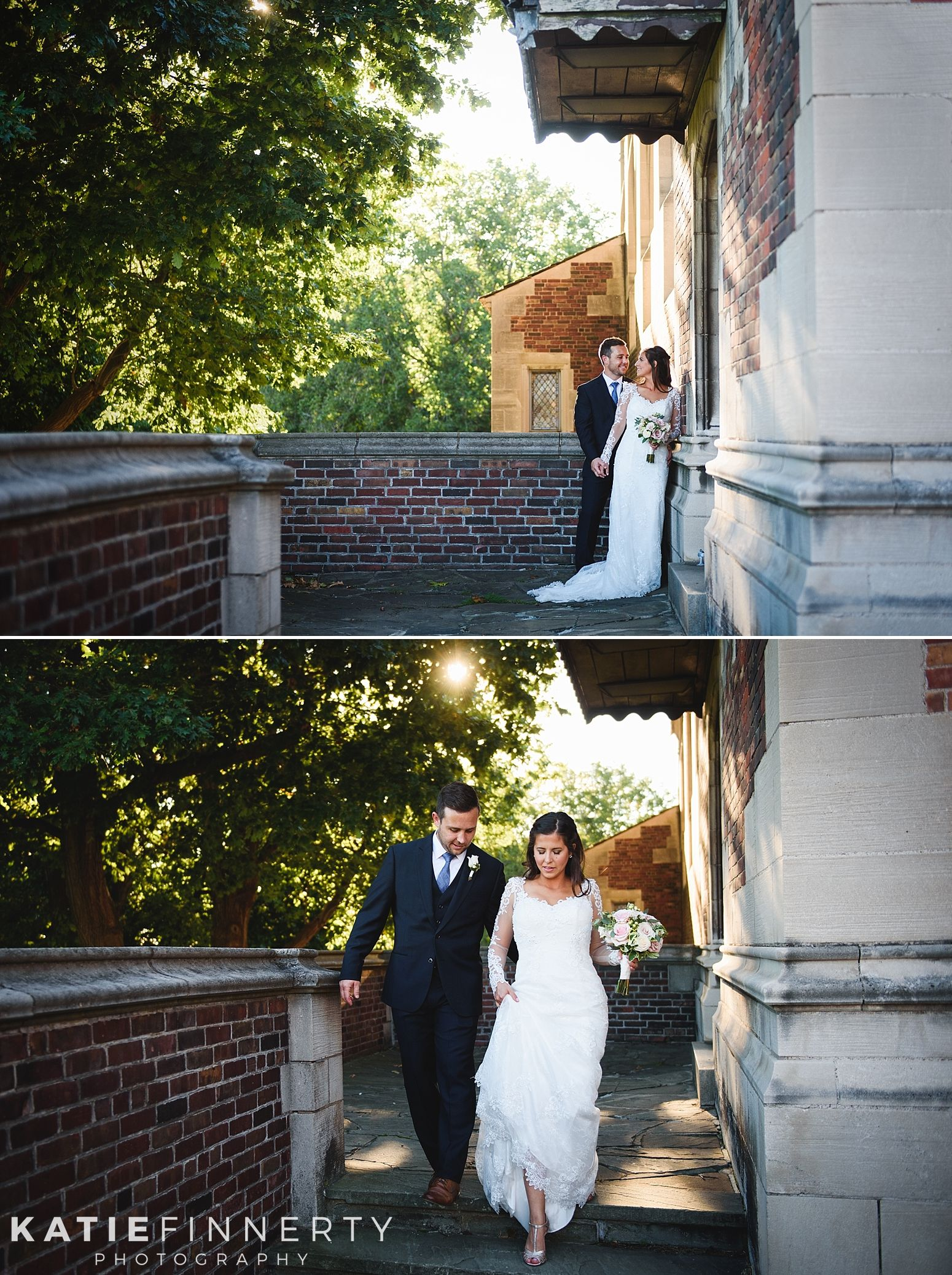Bride And Groom At Colgate Rochester Crozer Divinity School Wedding By Katie Finnerty Photography Http