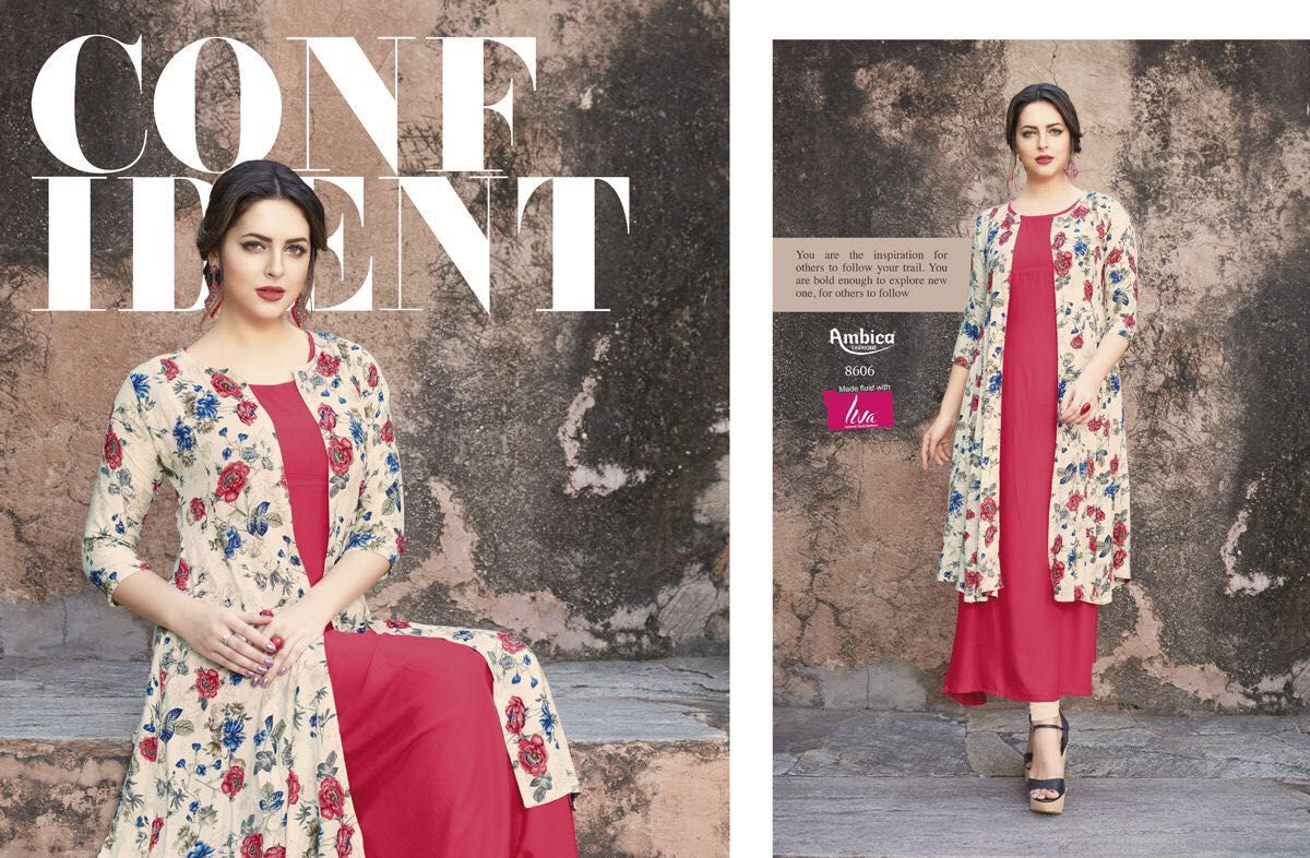 29f98e97ad AMBICA BY AARAMBH REYON PRINT CASUAL WEAR KURTI COLLECTION WHOLESALE PRICE  SURAT CONTACT DETAIL: For more info or order You Can #Contact Or #Whatsapp  On ...