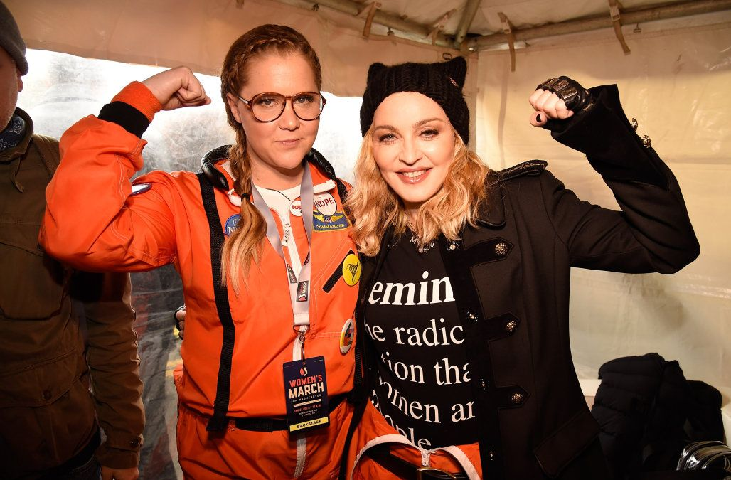 Madonna and Scarlett Johansson deliver powerful speeches