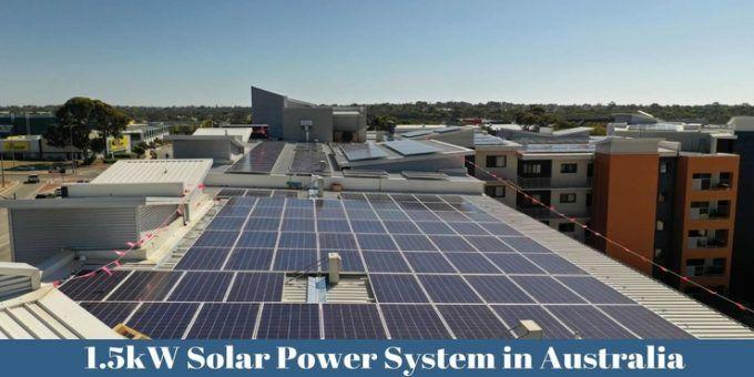 1 5kw Solar Power System In Perth Australia Installation Repair Solar Panel Cost Price Solar Panels Solar Power System Solar Panel Cost