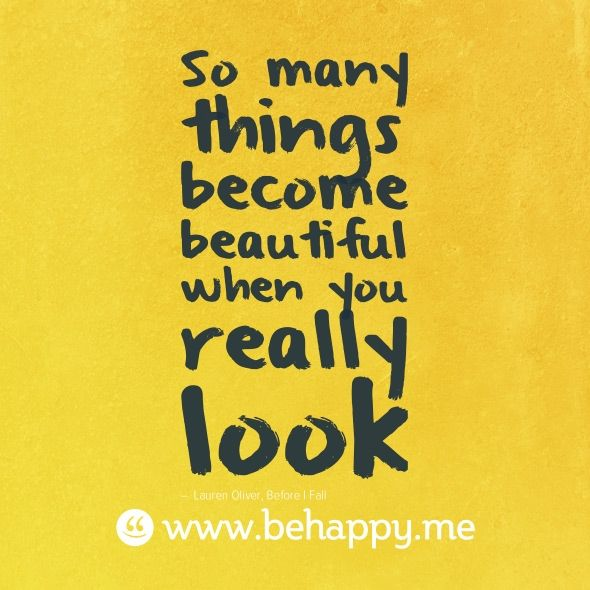 ... especially when you look with your heart. :)