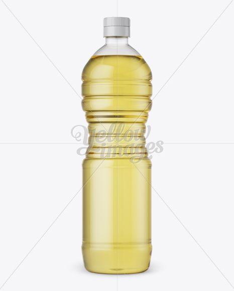 Download Plastic Sunflower Oil Bottle Mockup in Bottle Mockups on ... Free Mockups