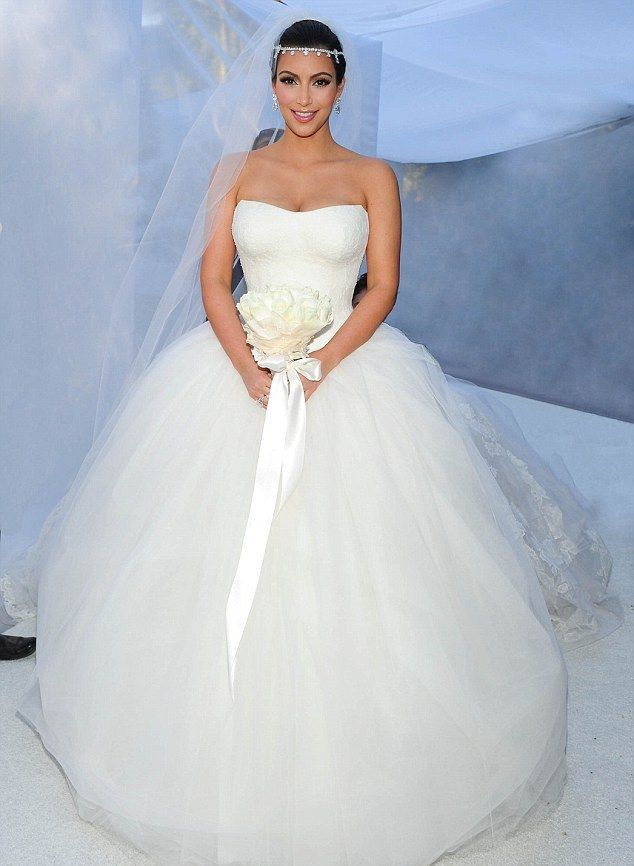 famous Wedding Dress | Celebrity Wedding Dresses Trendsetters with ...