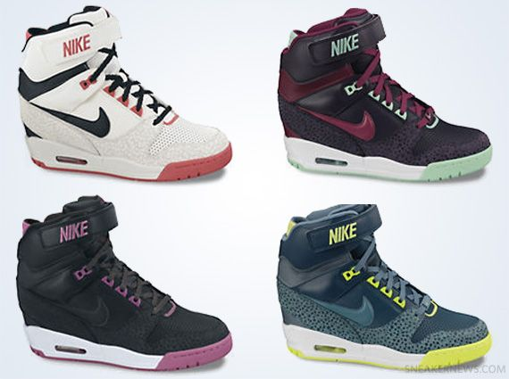 175835e2dd Nike WMNS Air Revolution Sky Hi | Current Crush | Sneakers nike ...