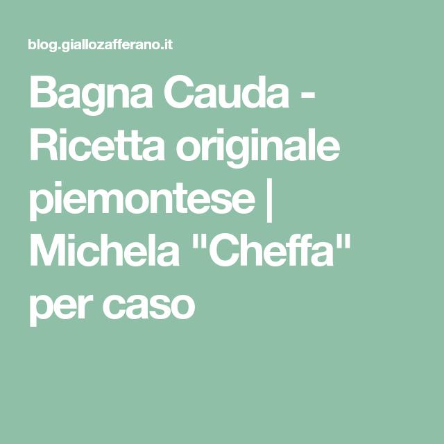 Bagna Cauda - Ricetta originale piemontese