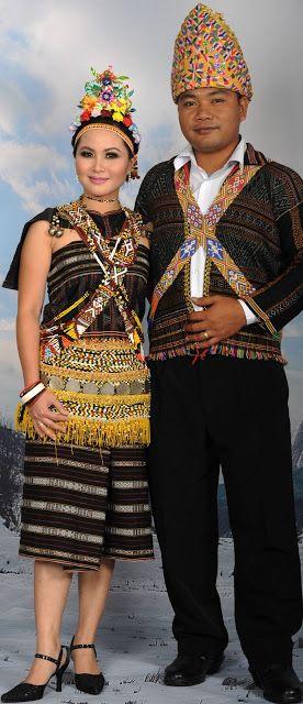 Pakaian Tradisional Vietnam : pakaian, tradisional, vietnam, Pakaian, Tradisional, Rungus:, Pengenalan, Fashion,, First, World,, Borneo