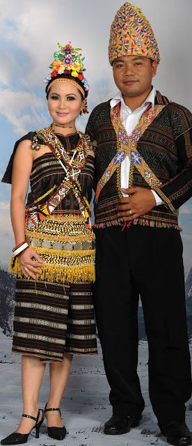 Pakaian Tradisional Rungus Pengenalan Fashion First World Borneo