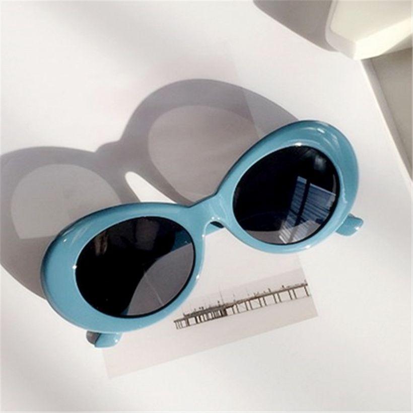f3523ecc6f Vintage NIRVANA Kurt Cobain Round Sunglasses For Women Men Mirrored Glasses  Retro Female Male Sun Glasses UV400 Goggles