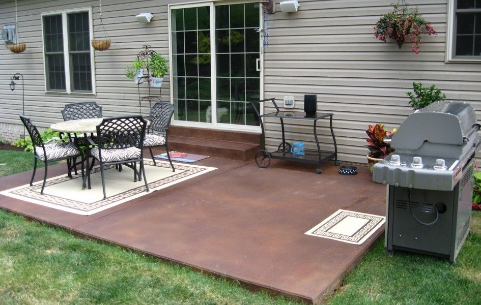 Fantastisch Concrete Patio Ideas And Designs   Landscaping   Gardening Ideas
