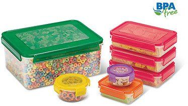 Crofton 14 Piece Latching Food Storage Set Food Storage Set