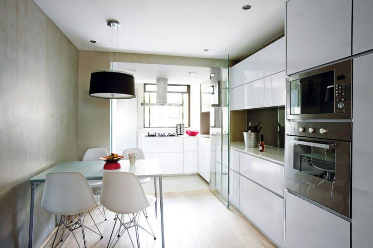 kitchen with a glass sliding door to separate the wet and dry kitchen kitchen design kitchen on kitchen ideas singapore id=41845