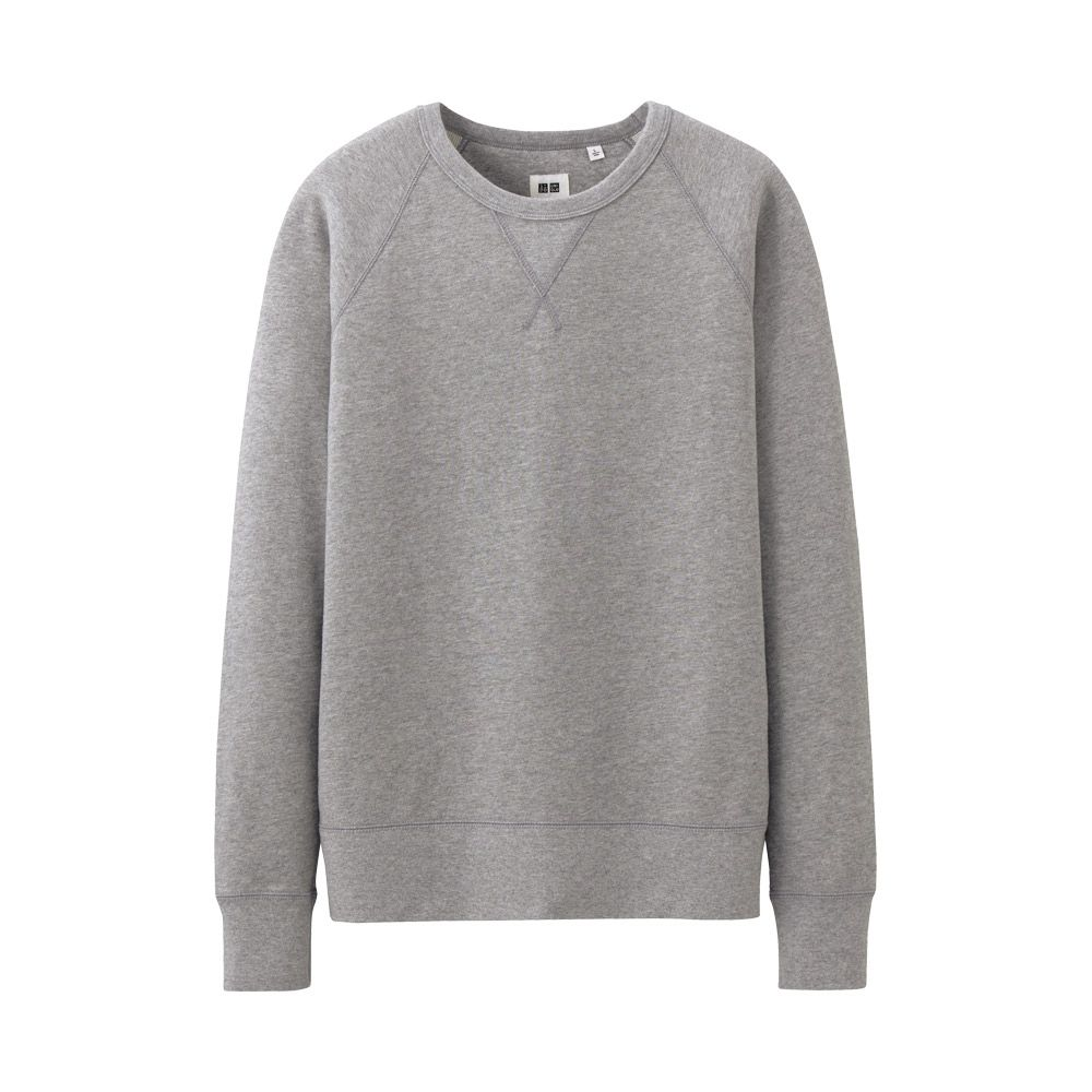 Uniqlo sweatshirt Gray   S T Y L E  Pinterest  Uniqlo Grey