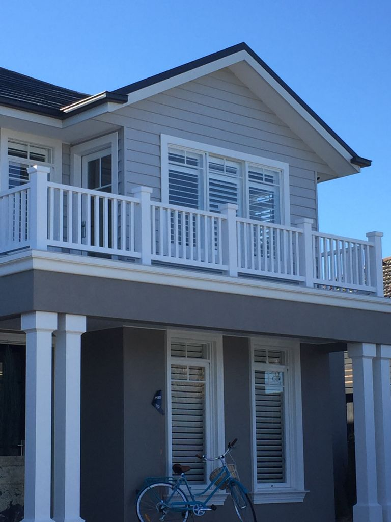 Best Long Island Facade Weatherboard House Beach House 400 x 300