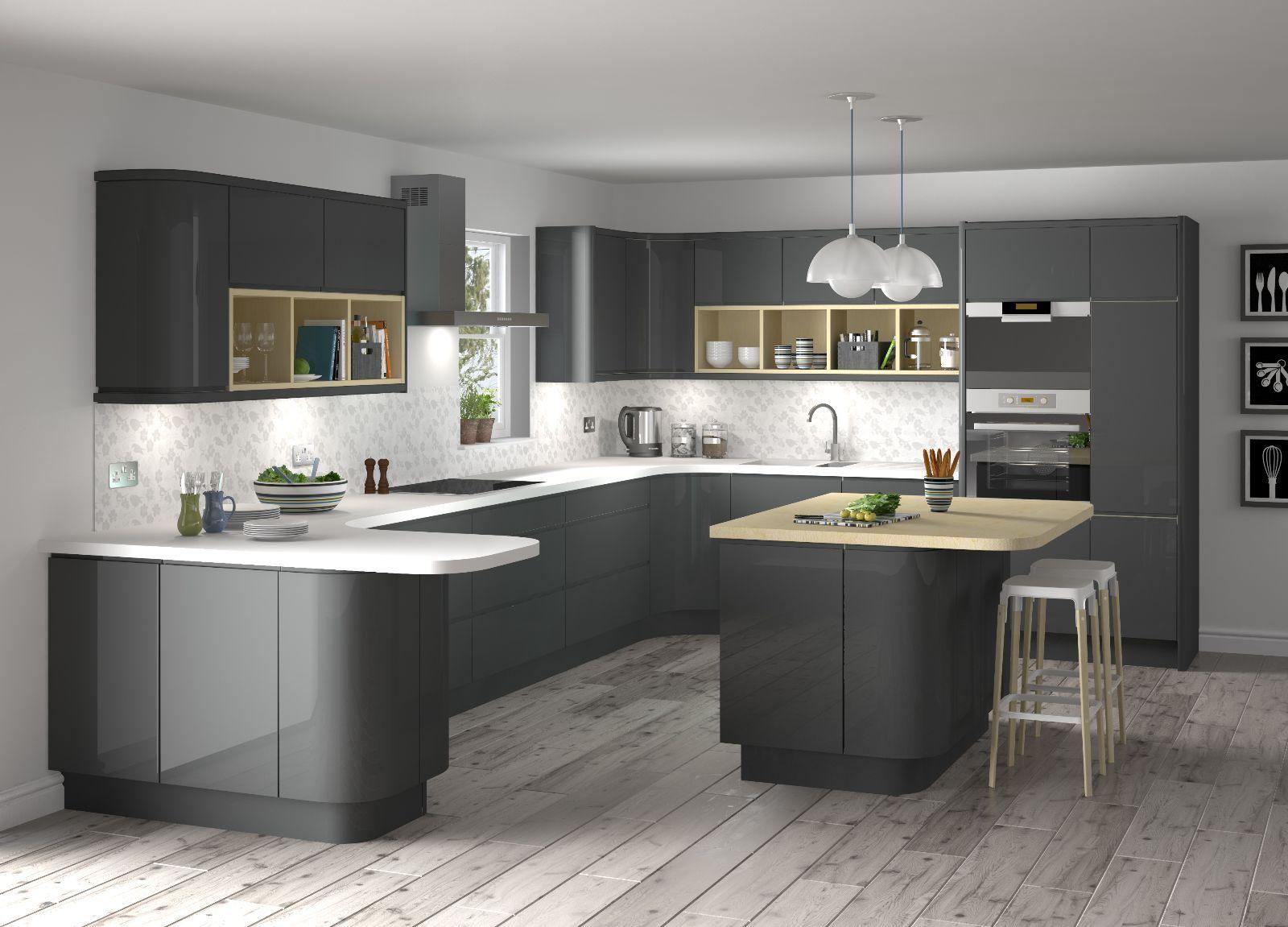 modern grey kitchen designs photo modern grey kitchen grey kitchen designs modern kitchen design on interior design kitchen small modern id=13726