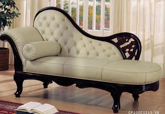 High quality cherry wood with italian leather sofa Italian