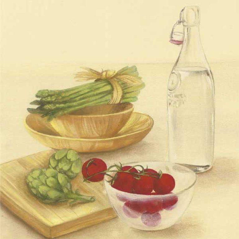 Varieté de Láminas para Decoupage: Algo para la cocina...