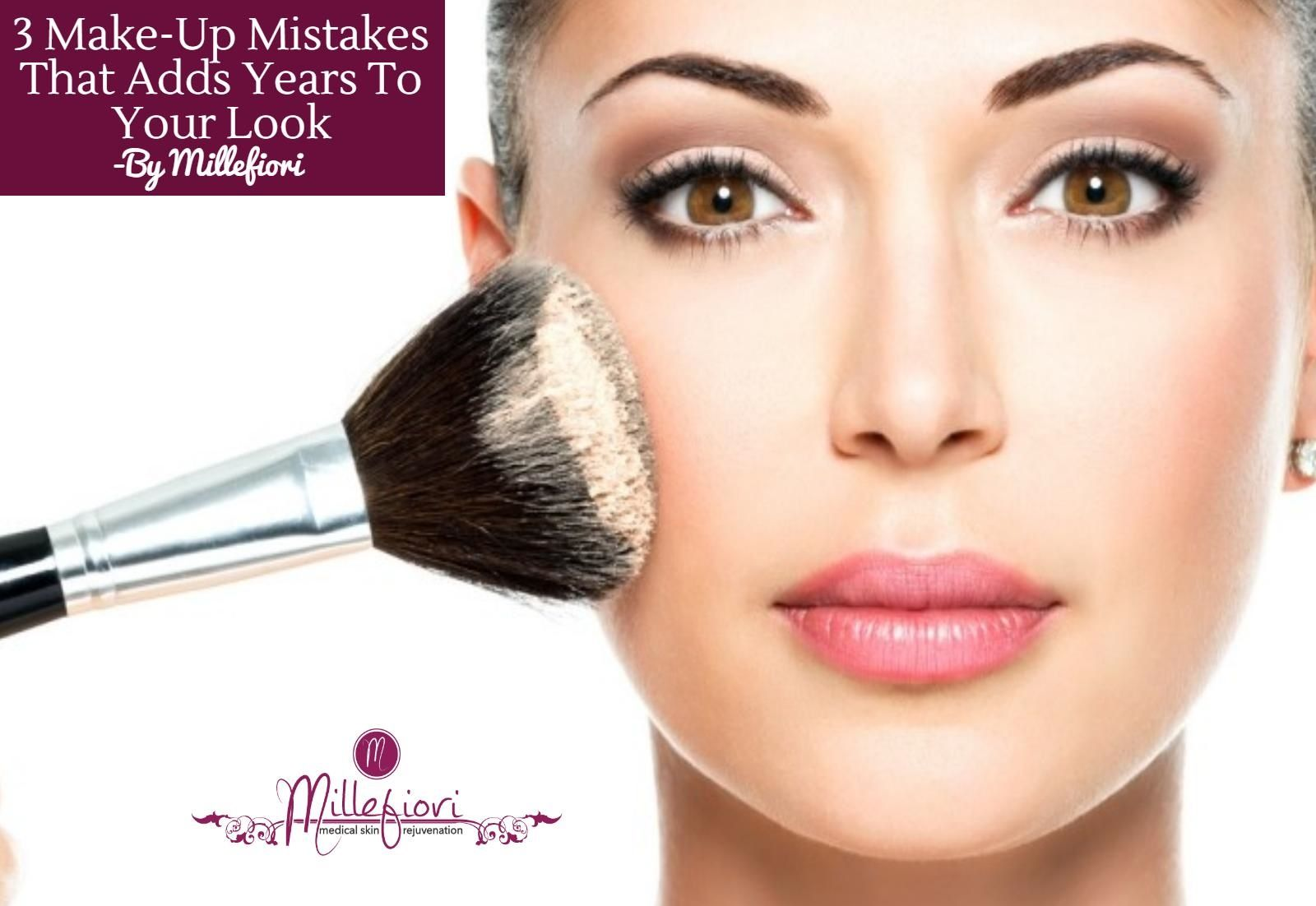 3 Makeup Mistakes That are Adding Years to Your Face