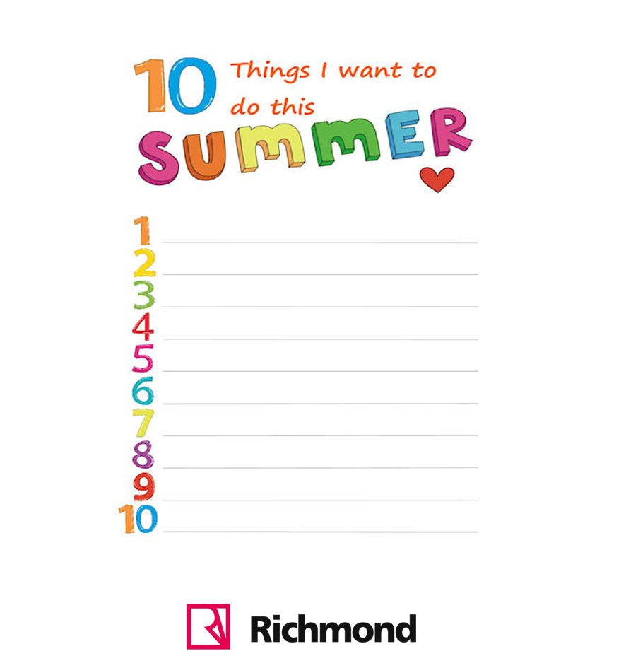 What do you want for summer?