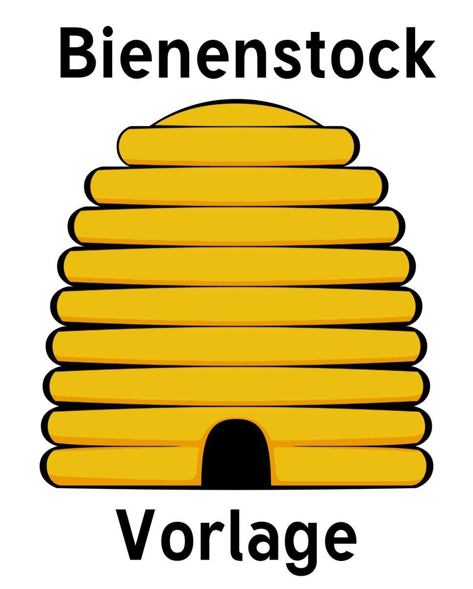Pdf Bienenstock Vorlage Zum Schreiben Oder Einfach Zum Ausmalen Zum Blogbeitrag Https Lesenische Wordpress Com 2018 06 Bienenstock Bienen Bienen Basteln