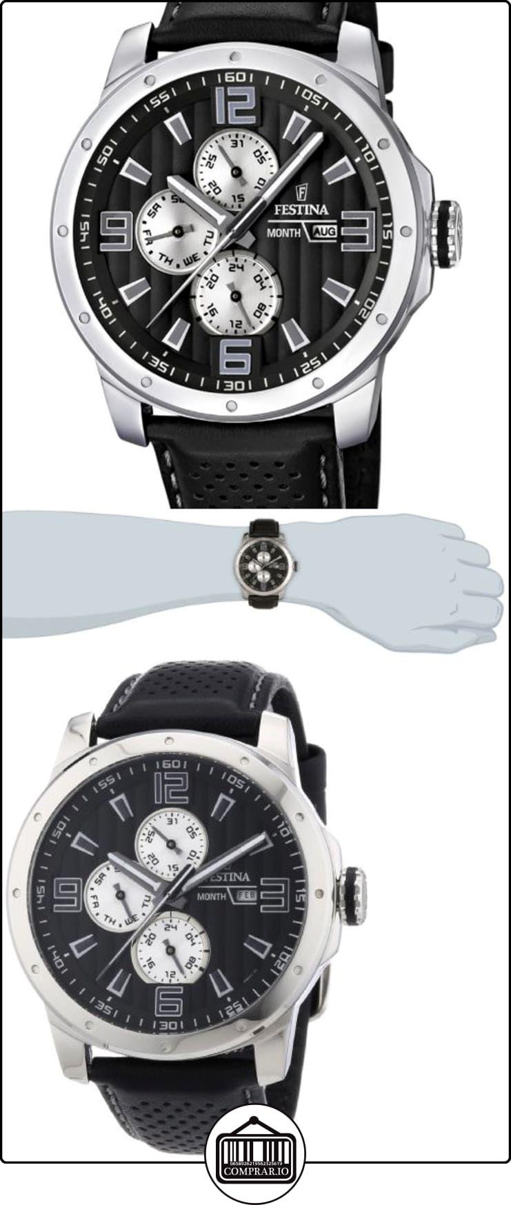 c276386e50de Festina Sport Multifunktion F16585 9 - Reloj analógico de cuarzo para hombre